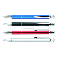 High quality promotion Metal Aluminium ballpoint pens Custome movie promotional products