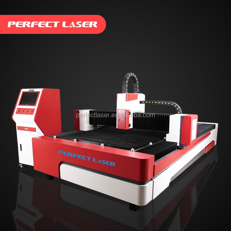Automatic metal 1mm stainless steel fiber laser cutting system for advertising industry