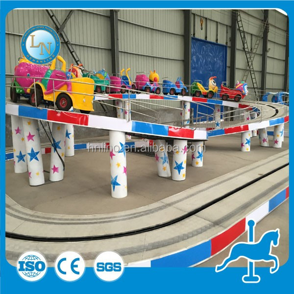 Amusement manufacture outdoor kids mini train rides electric car for sale