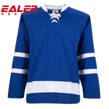 2018 new design custom team number maple leafs ice hockey jersey