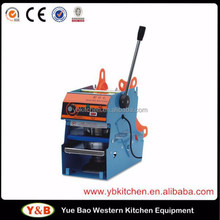 Plastic Cup Sealing Machine for Plastic Cup / Bowl / Paper Cup