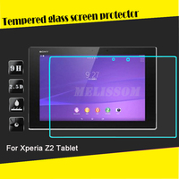 Factory price 2.5D curved tempered glass screen protector for Sony Xperia Z2 Tablet tempered glass screen protector