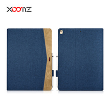 XOOMZ Simple Fabric Material Made Folio Cover Case for iPad Pro 12 inch