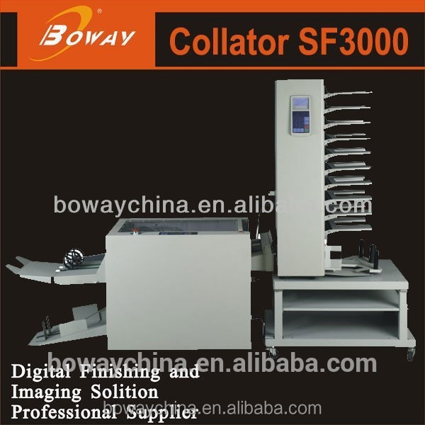 Promotion AD Office SF3000 paper collating machine
