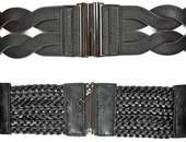 textile , leather belts woman and man