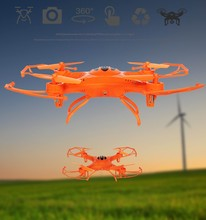 Hot Quad Copter UFO 4CH 2.4G FPV RTF Drone 3D Mini 3d quad copter with LED light