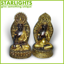 polyresin imitation bronze Thai buddha head, buddha statue ,buddha for sale