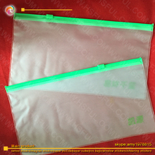plastic bags for clothes /cosmetic packaging/plastic file pocket
