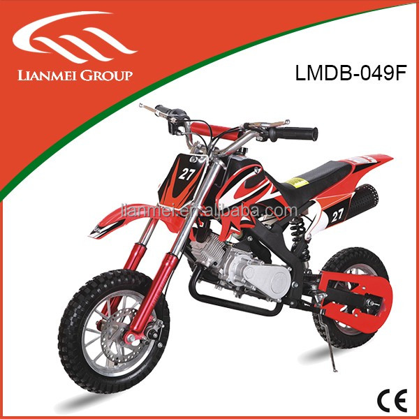 mini gas dirt bike motorcycle for kids sale with CE