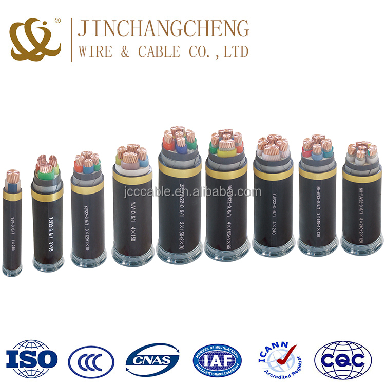 ISO certification low voltage braided power cable with factory price