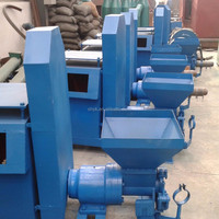 high capacity bamboo dust bark sawdust briquette machine