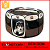 Dark Brown Dog Cat Portable Carrier Folding Crate Cage Pet House Cage 450088