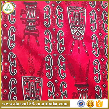 totem pattern 100% polyester fabric with best quality and low price