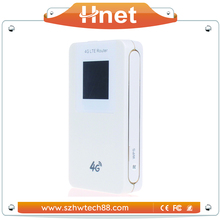 With sim card slot power bank new 4g modem wifi lte router