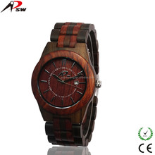 2017 New Arrival Natural Wooden Watch Custom Logo Japan Movt Quartz Wood Watch