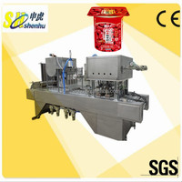 Automatic ice cream yoghourt syrup molasses filling cup machine