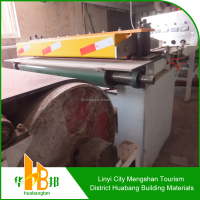 Gypsum board producing plant with heat conductive oil drying system