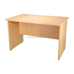 Melamine office writing table office desk can allow pedestal fixing in left or right ML1260