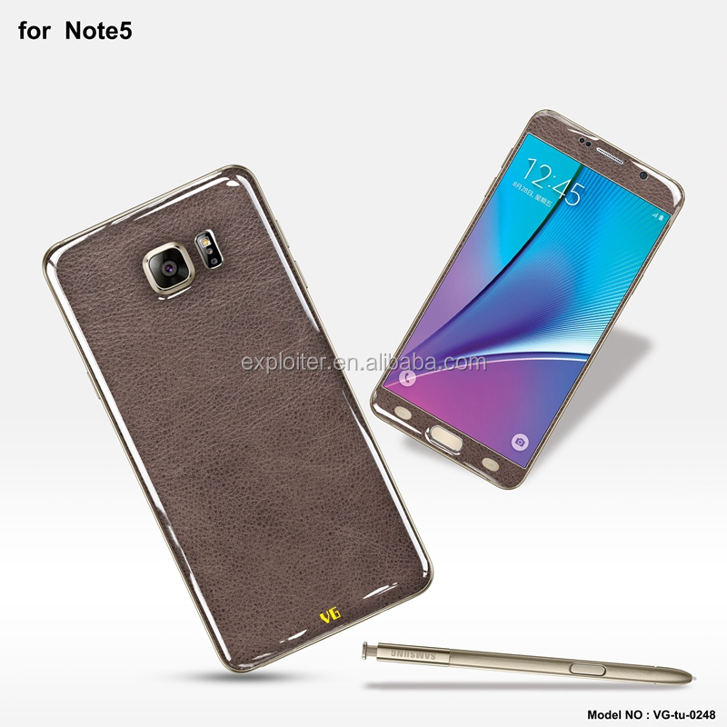 Wholesale ultra-thin gel 5.7inch mobile case for Samsung Galaxy Note 5