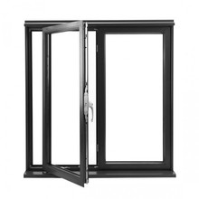 Thermal break aluminum pivot windows pivot hinged windows pivot glass window double glazing windows