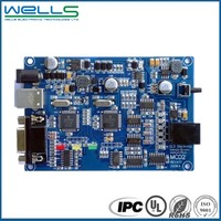 High quality multilayer FR-4 HAL pcb circuit board assembly