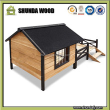 SDD010 Real Wood Waterproof and Anti-corrosion Dog House on Sale