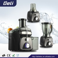 DL-B534 3 IN 1 kitchen appliance vegetables and fruits juicer machine