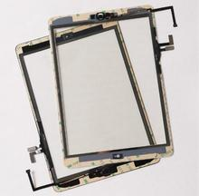 For ipad Air 1 Touch Screen Digitizer Assembly & Home Button repair parts For ipad 5 Tablet touch panel