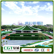 China cheap decorative landscape natural garden carpet turf garland decking artificial grass