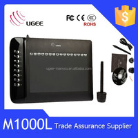 Ugee M1000L 10*6 Inch Touch Screen Digitizer for Drawing 2048 Pen Pressure Sensitive