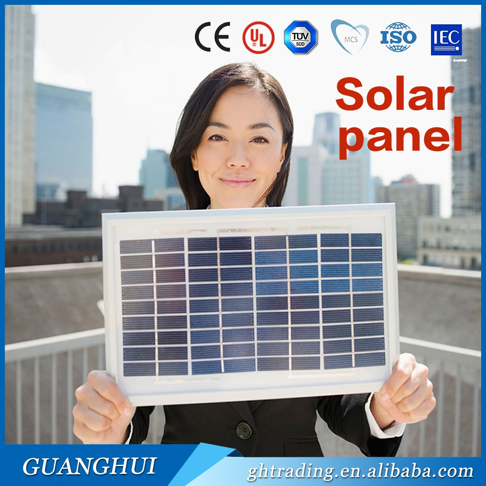 Aluminum and glass accessories 100W paneles solares for <strong>solar</strong> power system