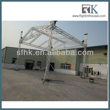 steel and aluminium truss for concert and exhibition stage