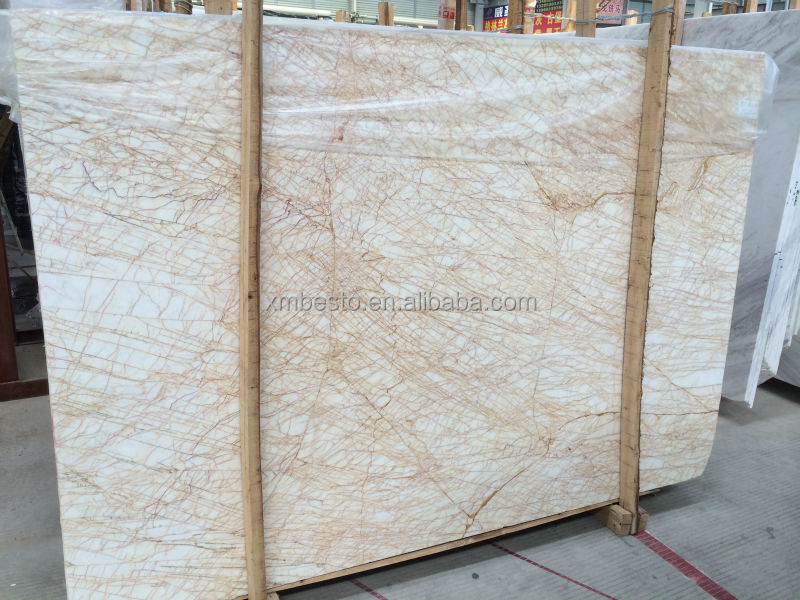 high quality rough spider cream italian marble prices