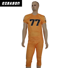 Custom made Sublimation college youth american football jersey uniforms