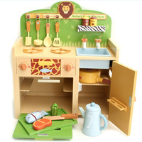 children toys new 2016 style wooden toy kitchen sets with top quality