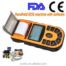 CONTEC ECG 80A Single channel Handheld ECG EKG machine with software electrocardiograph CE FDA