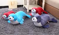 cute plush sea dog toys/stuffed sea lion toy/plush sea dog toy