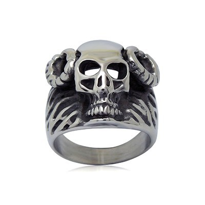 Men's Unisex Women's Gender Jewelry Type Dull Polish Stainless Steel Ring