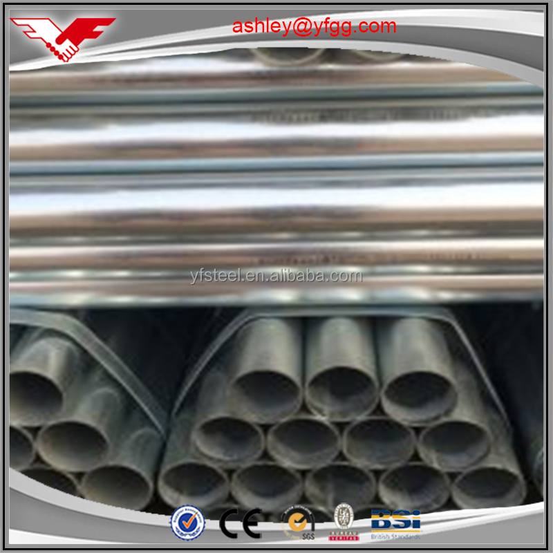 different size carbon steel weld/seamless gi pipe and tube Youfa brand