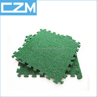 Artificial grass Cricket Mat with EVA Baking Mat