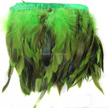 wholesale cheap dyed rooster tail feathers for indian headdress decorationfor party &costume dresses