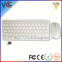 mini usb slim wireless keyboard and mouse combo