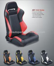adjustable racing seat JBR 1042 PU leather fabric with slider gaming seat