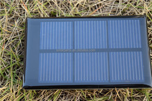 0.5W epoxy resin solar panel with high efficiency solar cells