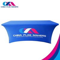 China - Flag - Makers [China's first resourse integration provider for ad textile printing] trade show spandex table cover