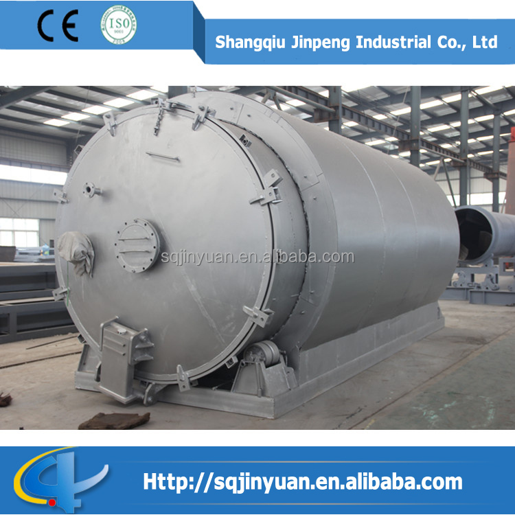 Waste Tire and Plastic Pyrolysis Machinery
