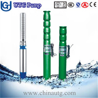 Submersible deep well 1 hp motor water pump