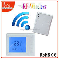 HY01RF LCD Touch Wireless heating room thermostat