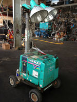 YAMAR 400WATT X 2 CONSTRUCTION LIGHT TOWER