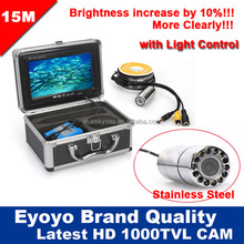 "5M Professional Fish Finder Underwater Fishing Video Camera 7"" Color HD Monitor 1000TVL"